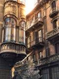 Architettura di Torino immagini stock