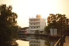 Architettura di Trat Tailandia Immagini Stock Libere da Diritti