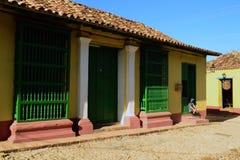Architettura di Trinidad, Cuba, patrimonio mondiale dell'Unesco immagine stock