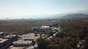 Architettura di UNAM, Instituto de Ecologia, LANCIS, Instituto de biologia, giardino botanico, riserva ecologica video d archivio