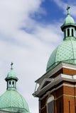Architettura di vecchia chiesa Fotografia Stock Libera da Diritti