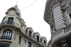 Architettura di vecchia città a Montevideo Fotografia Stock Libera da Diritti