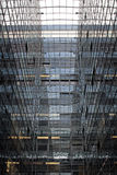 Architettura di vetro e d'acciaio Fotografie Stock Libere da Diritti
