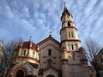 Architettura di Vilnius Fotografia Stock Libera da Diritti