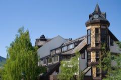 Architettura di Whistler fotografie stock libere da diritti