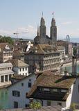 Architettura di Zurigo Fotografia Stock Libera da Diritti
