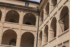 Architettura e archs Immagine Stock Libera da Diritti
