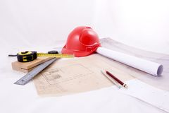 Architettura e costruzione immagini stock
