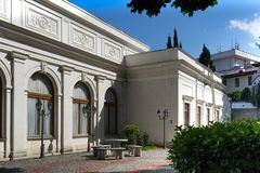 Architettura e interior design del palazzo di Livadia Immagine Stock