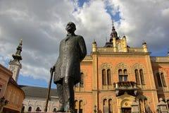 Architettura e monumento a Novi Sad Fotografia Stock