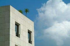 Architettura e natura Fotografia Stock