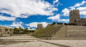 Architettura e paesaggio di Georgia Fotografia Stock