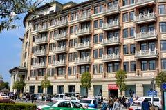 Architettura e via, Xiamen, Cina Immagine Stock