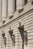 Architettura elegante della costruzione Fotografia Stock Libera da Diritti