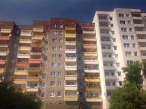 Architettura in Europa orientale Fotografie Stock Libere da Diritti