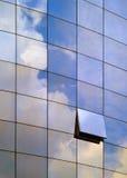 Architettura - finestra blu Immagini Stock