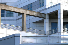 Architettura geometrica moderna Fotografia Stock