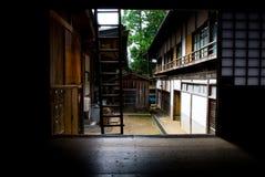 Architettura giapponese tipica Fotografia Stock Libera da Diritti