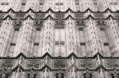 Architettura gotica fotografia stock