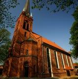 Architettura gotica del mattone Fotografia Stock Libera da Diritti