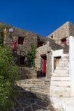 Architettura greca dell'isola Immagini Stock Libere da Diritti
