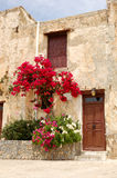 Architettura greca tradizionale Fotografia Stock