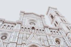 Architettura imbiancata di Firenze Immagine Stock