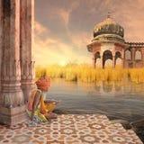 Architettura indiana Fotografia Stock Libera da Diritti