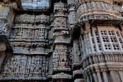 Architettura indiana del tempio Fotografia Stock