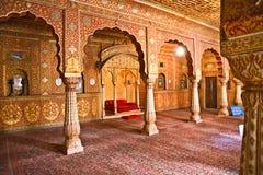 Architettura indiana tipica, India. Fotografie Stock