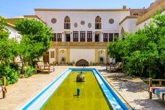 Architettura interna tradizionale 08 di Kashan fotografie stock