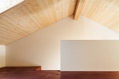 Architettura, interno, casa vuota Immagini Stock Libere da Diritti