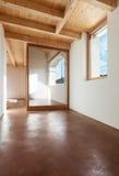 Architettura, interno, casa vuota Fotografie Stock Libere da Diritti