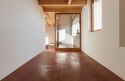 Architettura, interno, casa vuota Fotografia Stock Libera da Diritti