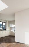 Architettura, interno della nuova casa Immagini Stock Libere da Diritti