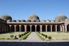 Architettura islamica, masjid di jami, mandu, Madhya Pradesh, India immagini stock
