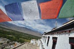Architettura in Ladakh, India Immagini Stock