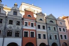 Architettura in Legnica poland Immagine Stock Libera da Diritti
