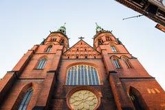 Architettura in Legnica poland fotografia stock