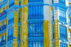 Architettura a Madrid, illustrazione Fotografia Stock