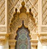 Architettura marocchina tradizionale Immagini Stock Libere da Diritti