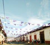 Architettura messicana fotografia stock