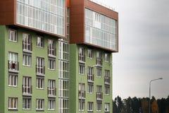Architettura moderna Alloggio sociale Fotografie Stock Libere da Diritti
