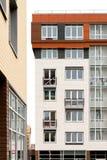 Architettura moderna Alloggio sociale Fotografia Stock Libera da Diritti