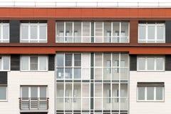 Architettura moderna Alloggio sociale Immagine Stock