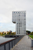 Architettura moderna in Almere, Olanda Immagini Stock Libere da Diritti