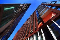 Architettura moderna a Amsterdam Fotografia Stock