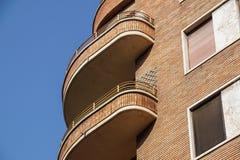 Architettura moderna del grattacielo del condominio dell'edificio residenziale Fotografie Stock Libere da Diritti