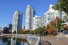 Architettura moderna del ` s di Vancouver Fotografia Stock Libera da Diritti