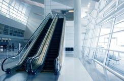 Architettura moderna dell'aeroporto Fotografia Stock Libera da Diritti
